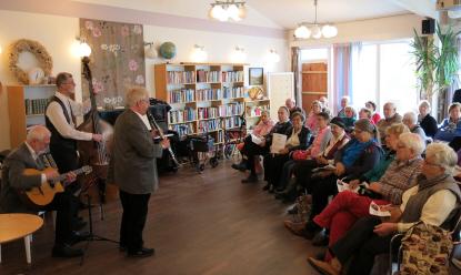 Bild från Seniordagen 2015. Foto: Solna stad