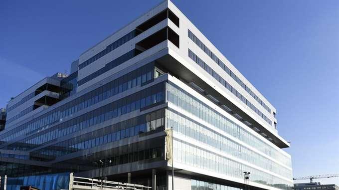 Nya Karolinska har förvarat sekretessbelagda uppgifter i ett öppet kontorslandskap.  Foto: HENRIK MONTGOMERY/TT / TT NYHETSBYRÅN