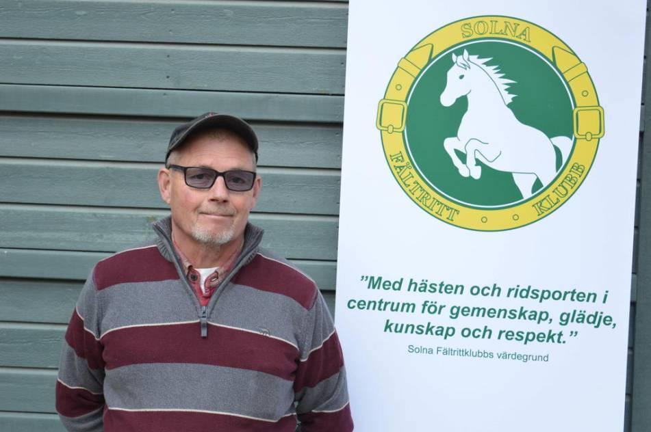 CHEF. Björn Waimon är ridskolechef sedan slutet av 90-talet. Foto: Jonas Carlsson